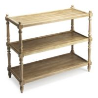 Butler Specialty Company Rothwell 3-Tier Console Table in Driftwood