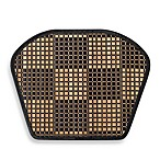 Bamboo Black Checkered Wedge Placemat