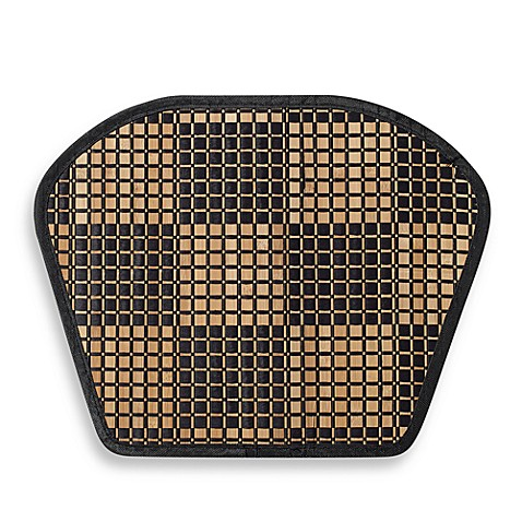 Bamboo Black Checkered Wedge Placemat Bed Bath Amp Beyond