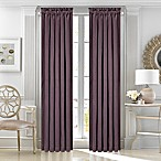 J. Queen New York™ Morocco 95-Inch Rod Pocket Window Curtain Panel in Plum