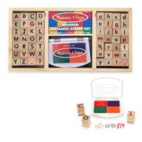 Melissa & Doug® Alphabet Stamp Set