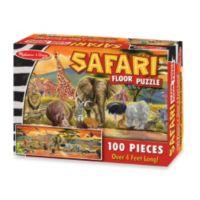Melissa & Doug® 100 Piece Safari Floor Puzzle
