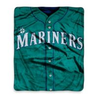 MLB Seattle Mariners Jersey Raschel Throw Blanket