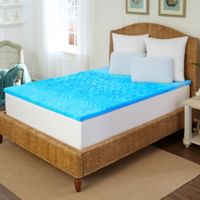 Arctic Sleep™ by Pure Rest™ 1.5-Inch Marbleized Gel 5-Zone California King Topper