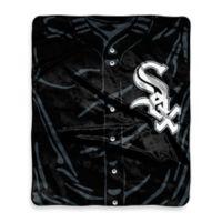 MLB Chicago White Sox Jersey Raschel Throw Blanket
