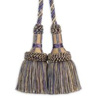 Paris Chair Tassel Tie Back in Purple/Gold
