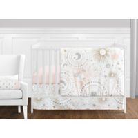 Sweet Jojo Designs Celestial 11-Piece Crib Bedding Set in Pink/Gold