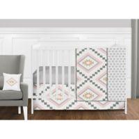 Sweet Jojo Designs Aztec 11-Piece Crib Bedding Set in Pink/Gold