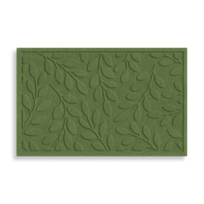 Bungalow Flooring Soft Impressions Microfibres® Brittany Leaf Rug In Basil