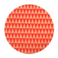 Core Kitchen™ Triangles Round Cork Trivet