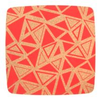 Core Kitchen™ Square Cork Trivet in Geo Strawberry