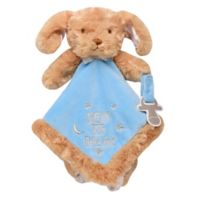 Baby Starters Snuggle Buddy® Puppy with Pacifier Holder in Blue