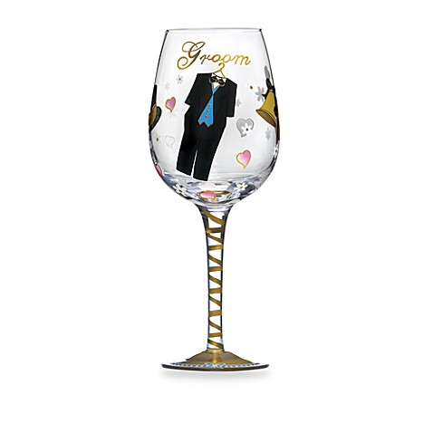 Mikasa® Celebrations Groom Wine Glass
