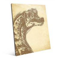 Astra Art Brachiosaurus 11-Inch x 14-Inch Acrylic Wall Art