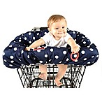 Balboa Baby® Shopping Cart and High Chair Cover in Navy/White Dot