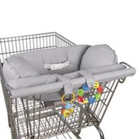 Leachco® Prop 'R Shopper® Body Fit Shopping Cart Cover in Grey Pin Dot