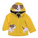 London Fog® Size 6-9M Dog Hooded Jacket in Yellow