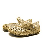 Size 3-6M Mary Jane Jelly Sandal in Gold