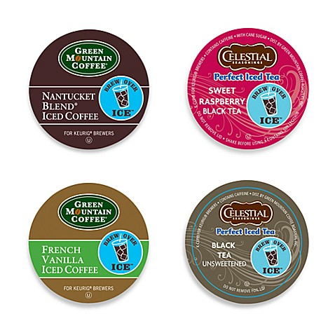 K Cup Iced Coffee Or Tea For Keurig Brewers