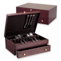 Reed & Barton 1-Drawer Mahogany Flatware Chest