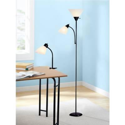 Tensor floor lamp and desk lamp set in black bed bath beyond product image for tensor floor lamp and desk lamp set in black 2 out of aloadofball Images