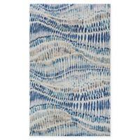 Couristan® Easton Charles 7'10 x 11'2 Area Rug in Bone/Blue