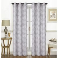Thatcher 84-Inch Grommet Window Curtain Panel Pair in Platinum