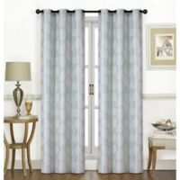 Thatcher 84-Inch Grommet Window Curtain Panel Pair in Lagoon
