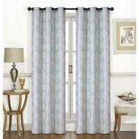 Thatcher 63-Inch Grommet Window Curtain Panel Pair in Lagoon