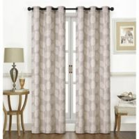 Thatcher 84-Inch Grommet Window Curtain Panel Pair in Latte