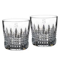 Waterford® Lismore Diamond Personalized Tumblers (Set of 2)