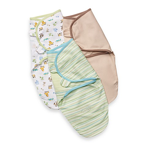 SwaddleMe® 3-Pack in Neutral