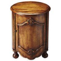 Butler Furniture Company Kenwood Drum Table in Dark Toffee