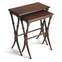 Butler Specialty Company Arabella Nesting Tables in Plantation Cherry (Set of 2)