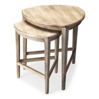 Butler Specialty Company Finnegan Nesting Tables in Driftwood (Set of 2)