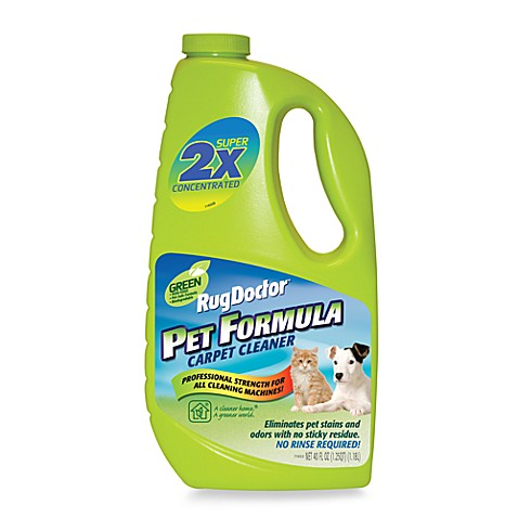 Buy Rug Doctor 174 Green Pet Formula Carpet Cleaner From Bed