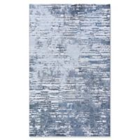 Couristan Cryptic 6'6 x 9'6 Area Rug in Grey