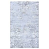 Couristan Cryptic 6'6 x 9'6 Area Rug in Light Grey