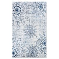 Couristan® Summer Bliss 9'2 x 12'5 Area Rug in Steel Blue/Ivory