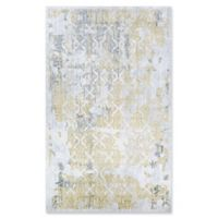 Couristan® Grand Damask Loomed 9'2 x 12'5 Area Rug in Gold/Silver/Ivory