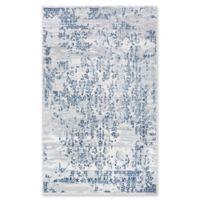Couristan® Samovar Floral Rug in Steel Blue/Ivory