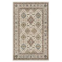 Couristan® Yamut Woven 5'3 x 7'6 Area Rug in Antique Cream/Mocha