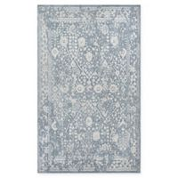 Couristan® Marina Lillian 3'11 x 5'6 Area Rug in Blue/Oyster