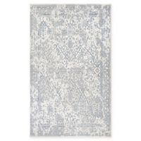 Couristan® Marina Lillian 3'11 x 5'6 Area Rug in Oyster/Slate Blue