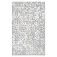 Couristan® Marina Lillian 3'11 x 5'6 Area Rug in Oyster/Slate Blue