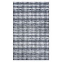 Couristan Shibori Abstract 5'3 x 7'6 Area Rug in Grey/Ivory