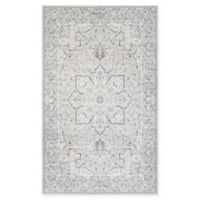 Couristan® Marina Siena 5'3 x 7'6 Area Rug in Pearl/Champagne