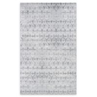 Couristan® Marina Grisaille 9'2 x 12'9 Power-Loomed Area Rug in Pearl/Champagne