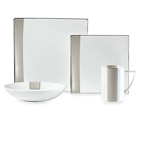 Mikasa® Shimmer Square 4-Piece Place Setting