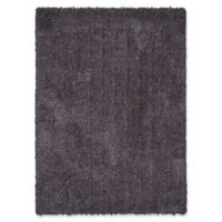 Calvin Klein® Puli Plush Shag Tufted 4' x 6' Area Rug in Steel